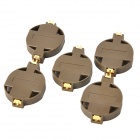 Mini CR2032 Cell Battery Holder Case - Grau (5 PCS)