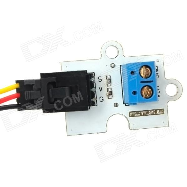 Voltage divider module for arduino works with official