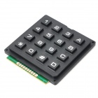 DIY 4*4 16-Key Numeric Keypad - Black