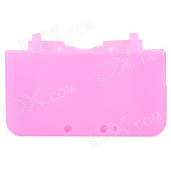Protective Soft Silicone Full Protection Case for Nintendo 3DS XL / 3DS LL - Pink goigame protective clear screen protectors guard set for nintendo 3ds xl