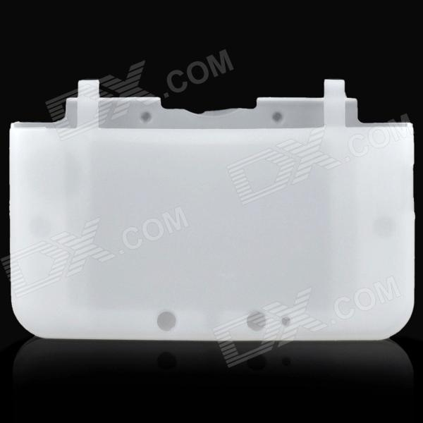 цены на Protective Soft Silicone Full Protection Case for Nintendo 3DS XL / 3DS LL - White