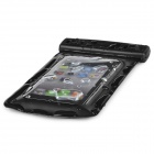 Universal Waterproof Bag with Lanyard for Iphone / Cell Phone - Black