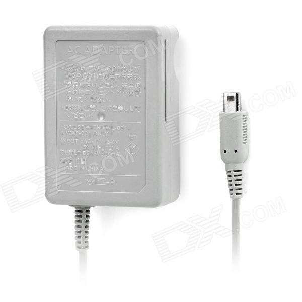 AC Charging Power Adapter Charger for Nintendo 3DS LL - Grey