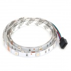 RGB Multicolored 1-Meter 30-LED 6W Light Strip w/ Remote (DC 12V, 1m)