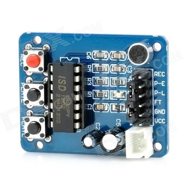 ISD1820 Voice / Sound Recording Module (3~5V)