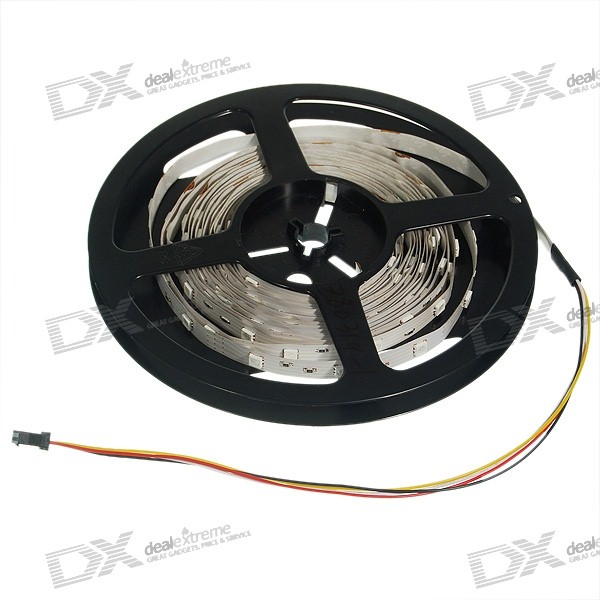 RGB Multicolored 1-Meter 30-LED 6W Light Strip (DC 12V)
