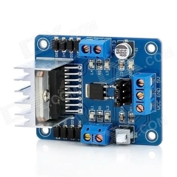 L298n stepper motor driver controller board module blue for Controlling a stepper motor