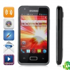 "i9270 Android 4.0 GSM Bar Phone w/ 3.5"" Capacitive Screen, Quad-Band, GPS and Wi-Fi - Black"