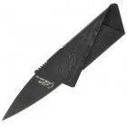 Portable Folding Credit Card Style Safety Knife - Black (5cm-Blade Length)