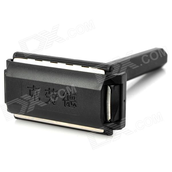 CLOUD Plastic + Stainless Steel Manual Shaver Razor - Black