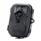 2.4'' TFT 12MP Wide Angle Hunting Camera w/ 26-IR LEDs / Mini USB / AV - Black