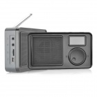 PPA001 Portable 1.5&quot; LCD DAB FM Radio - Black (3 x AA)