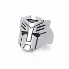 Autobots Style Unisex Decorative Alloy Ring - Silver
