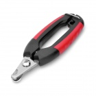 Professional Nail Clipper for Pet Dog - Red + Black