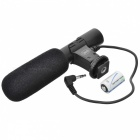 Kingma Directional Stereo Microphone for 3.5mm Mic Jack DV Camera / DSLR (1x CR1632)