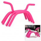 HL-002 Creative Bendable Finger Shaped Holder - Deep Pink