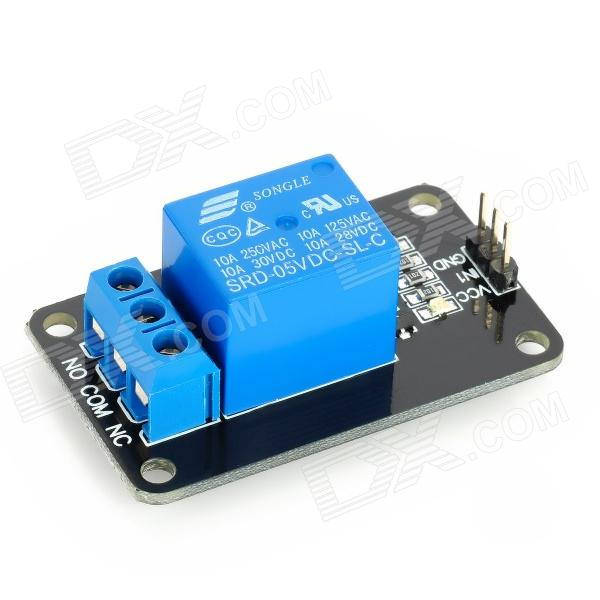 V relay module for arduino works with official