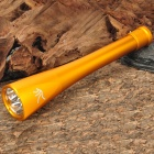 TrustFire London 2012 Olympic Torch Style 2200LM 5-Mode LED Flashlight - Golden (3 x 26650)
