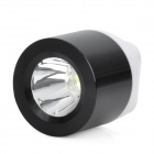 Mini Portable USB 1W White 1-LED Flashlight - Black + White