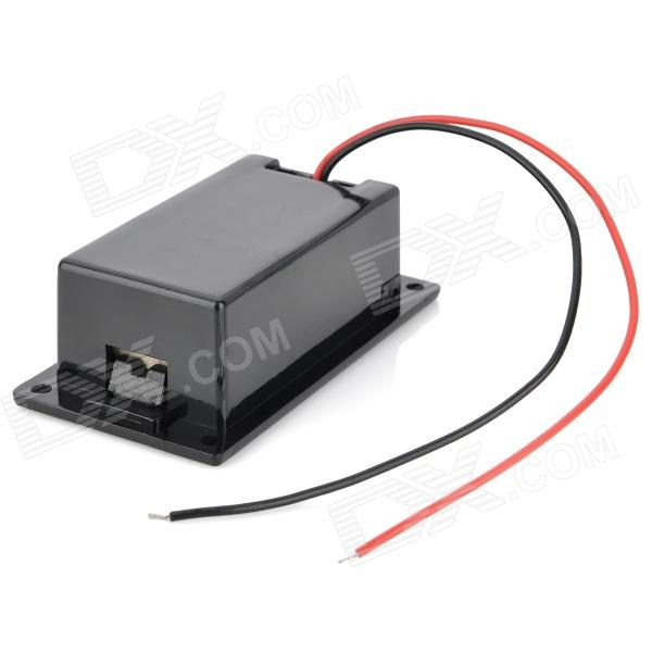 9V Battery + T-Type Buckle Case Set - Black