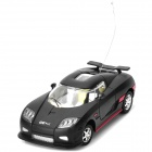 Cool G-Sensor R/C Remote Control Racing Car Toy - Black + Red (6 x AA)