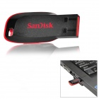 Genuine SanDisk Blade CZ50 USB 2.0 Flash Drive - Black (32GB)