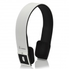 Veggieg  HE-01 Bluetooth v2.1 + EDR Stereo Headphone for Iphone 4 / 4S - White