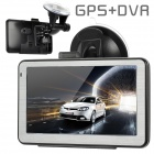"GU5110 5.0"" Resistive Touch Screen Win CE 6.0 GPS Navigator w/ DVR / America + Canada + Mexico Map"