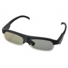 USB Rechargeable 3D Active Shutter Glasses for Epson LCD Projectors - Black