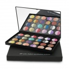 Professional 48-Color Cosmetic Makeup Baked Eye Shadow Palette - Multicolored
