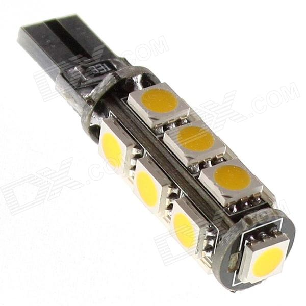 CAN-bus T10 2.2W 13-5050 SMD LED Warm White Light Car Dome Light (12V)