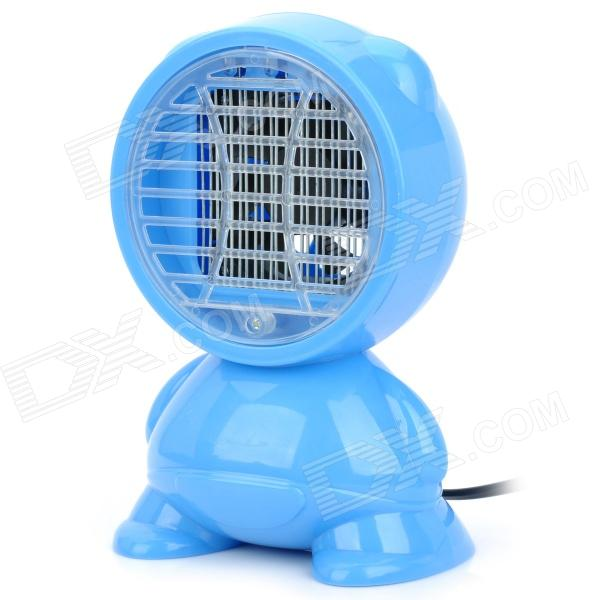 AC Powered LED Purple Light Mosquito Insects Killer - Blue (AC 220V/2-Flat-Pin Plug) ac powered led light electronic mosquito insects killer random color ac 220v 2 flat pin plug