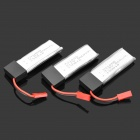 Replacement 3.7V 500mAh Li-po Batteries for WLToys V929 4-Axis UFO (3 PCS)