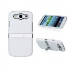 Protective Plastic Back Case for Samsung Galaxy S3 i9300 - White