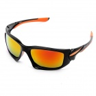 CARSHIRO LX-049 Motorcycle Polarized Sunglasses - Black + Orange