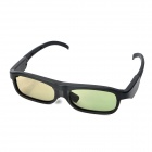 Universal USB Rechargeable 3D Active Shutter Glasses for LCD TV - Black