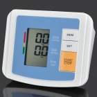 "U80BH 2.4"" LCD Fully Automatic Upper Arm Blood Pressure Monitor - Blue (4 x AA)"