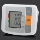 "U80B 3.4"" LCD Fully Automatic Upper Arm Blood Pressure Monitor - White (4 x AA)"