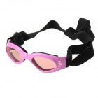 BGS-PET11 Fashion Outdoor Pet Dog Goggles UV Protection Sunglasses - Pink