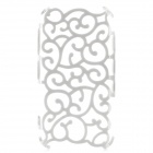 Hollow-out Protective PC Back Case for Samsung Galaxy S III / i9300 - White