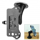 PS + ABS Car Mount Holder w/ Suction Cup for Samsung Galaxy S III / i9300 - Black