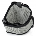 PVC Mesh Sports Armband w/ Velcro for Samsung Galaxy S III / i9300 - Grey + Black