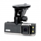 HD 1080P 1,5'' TFT 5.0MP CMOS Weitwinkel Auto DVR Camcorder w / GPS / G-Sensor / 2-LED Night Vision