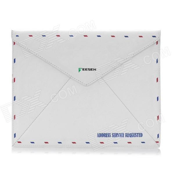 Vintage Envelope Style Protective PU Leather Case for Ipad 2 / The New Ipad - White the white guard