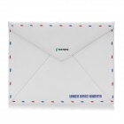 Vintage Envelope Style Protective PU Leather Case for Ipad 2 / The New Ipad - White