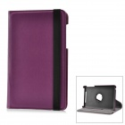 Protective PU Leather Case for Google Nexus 7 - Purple