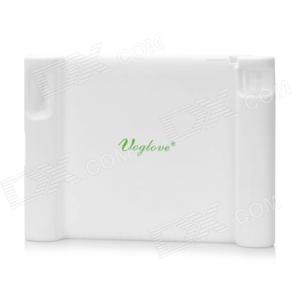 Anti-Fall Anti-Slip Anti-Shock Silicone Case for Ipad / The New Ipad - White the white guard