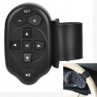Infrared Steering Wheel Remote Control for Car - Black (1 x CR2025)