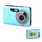 "JWD-X11 3.0"" TFT 5.0MP 8X Digital Zoom Digital Camera - Sky Blue"