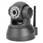 300KP Surveillance Security IP Network Camera w/ Wi-Fi / 10-LED IR Night Vision - Black